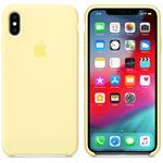 iPhone Xs Max Silicone - Mellow Yellow