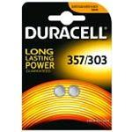 Duracell 357/303 1.5v Watch Cell 2 Pack