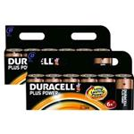 Duracell Plus Power D Size 2 Packs Of 6